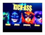 The screen to select your language for the Kick-Ass movie.