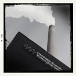Standing almost directly below a Helsingin Engergia smoke stack.