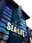 The front entrance of Sea Life Helsinki.